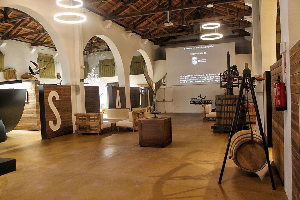 Instalaciones del Museo del Vino y la Sal