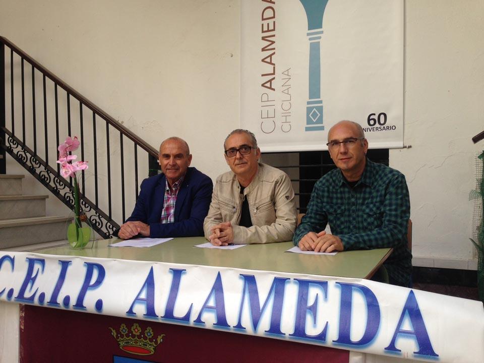 Presentación de los actos del 60 aniversario del CEIP Alameda