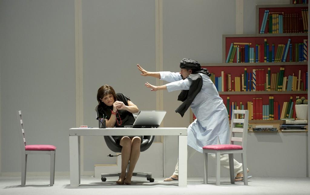 'Efecto Dulcinea', una de las obras representadas en el Moderno.