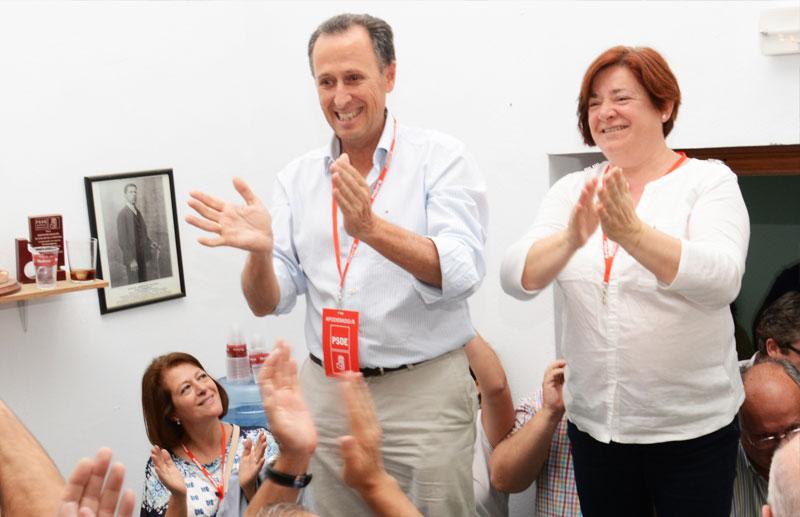 Román y Verdier celebraron efusivamente la victoria.. Foto: J. carmona