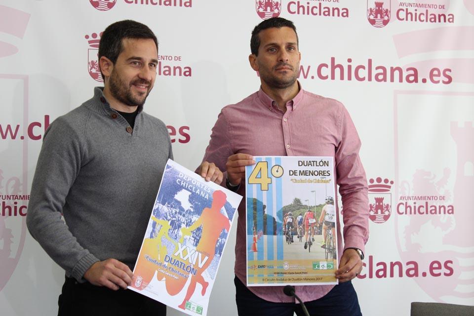 Presentación del Duatlón Ciudad de Chiclana
