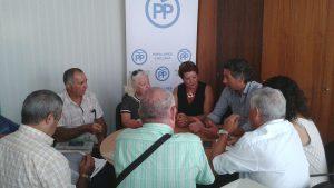Reunión PP y por un IBI real