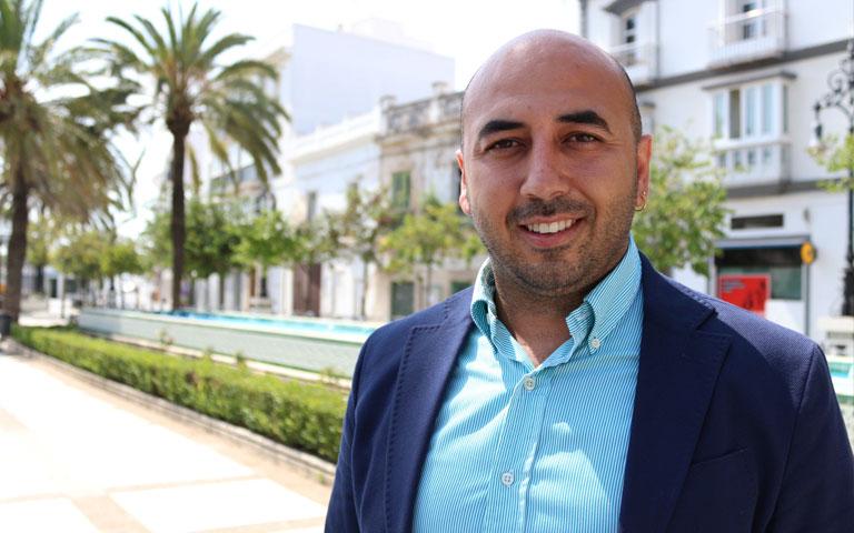 Adrián Sánchez, portavoz de Ganemos Chiclana