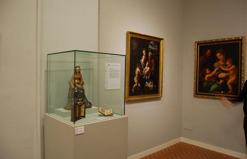 La exposción recoge piezas de diferentes momentos de la historia.