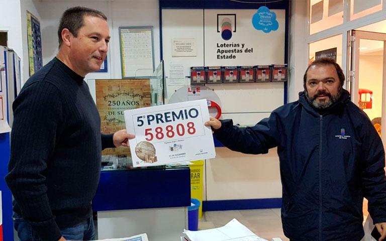 Premiados en el sorteo de la Lotería de Navidad 2017