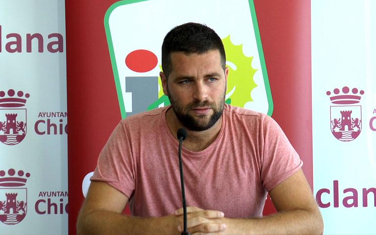 Roberto Palmero, coordinador de Izquierda Unida Chiclana