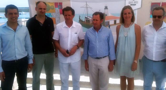 Autoridad Portuaria, Ayuntamiento y empresa adjudicataria estuvieron representados.