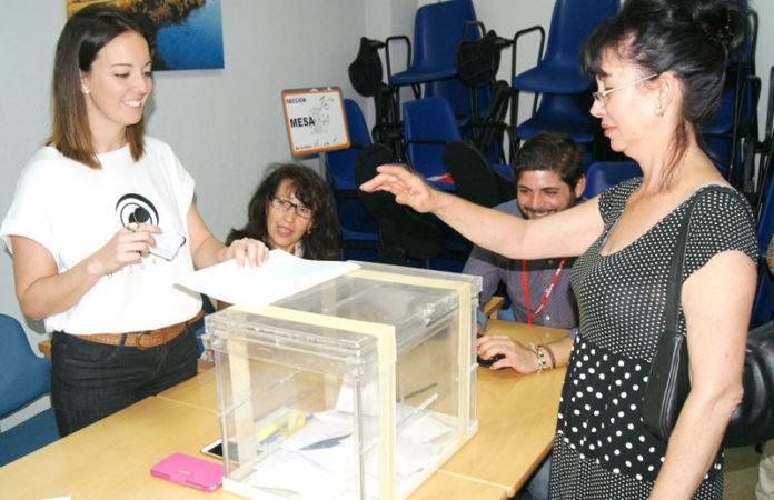 Las votaciones se desarrolaron sin incidentes reseñables y con buena ambiente. CaraS