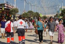 Cruz Roja aportará 14 voluntarios al dispositivo de seguridad de la feria. CaraS