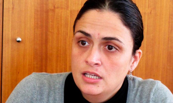 Ana Rodríguez, candidata a la alcaldía de Chiclana por IU.