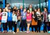 Los participantes del evento en foto de familia.