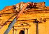 Obras de mejora en la fachada de la Iglesia Mayor