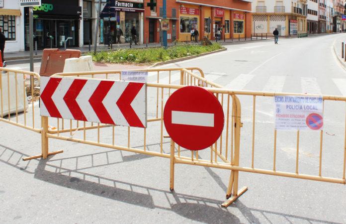 Mendizábal permanece cerrado al tráfico. FOTO: Muriel