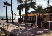 Acceso mejorado en el paseo marítimo de La Barrosa.