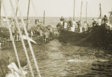 La almadraba de Sancti Petri era conocida por la gran cantidad de capturas que obtenía.