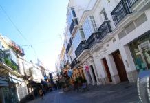 La Corredera Baja es una de esas calles llenas de vida del centro.