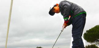 El golfista, pese a su edad, destaca por su calidad. Muriel