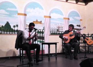Momento flamencos en Chiclana.