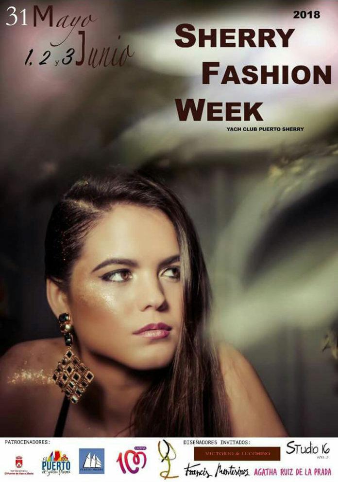 Cartel de la pasarela Sherry Fashion Week