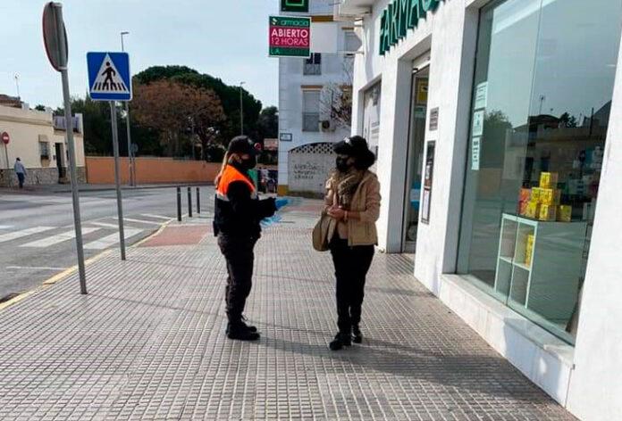 Campaña contagios Chiclana