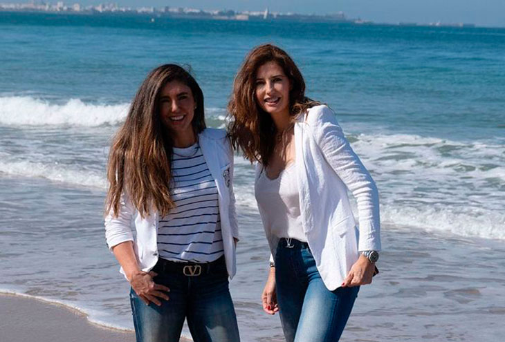 Ester Fernández y Sara Benjumea